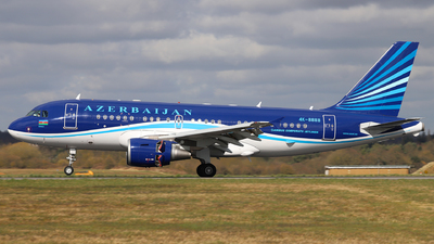 A picture of 4K8888 - Airbus A319115(CJ) - Azerbaijan Airlines - © Dave Potter