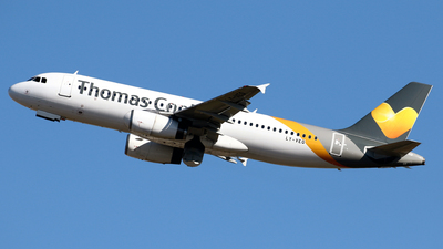 LY-VEQ - Airbus A320-232 - Thomas Cook Airlines (Avion Express)