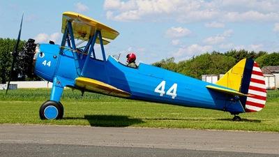 G-LIIZ - Boeing A-75N1 - Private