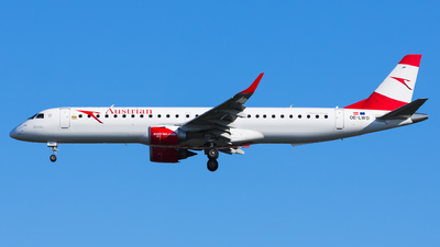 A picture of OELWO - Embraer E195LR - Austrian Airlines - © Kris Van Craenenbroeck