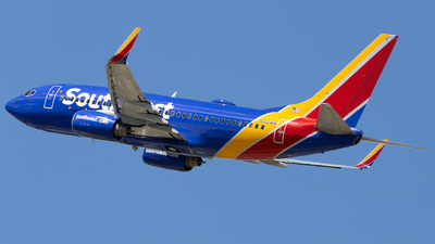 N412WN - Boeing 737-7H4 - Southwest Airlines