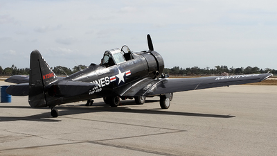 N7296C - North American SNJ-5 Texan - Private
