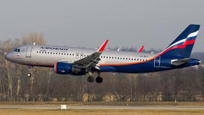 VQ-BPV - Airbus A320-214 - Aeroflot