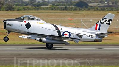 VH-IPN - CAC CA-27 Sabre Mk.32 - Australia - Royal Australian Air Force (RAAF)