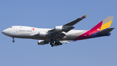HL7419 - Boeing 747-48EF(SCD) - Asiana Airlines