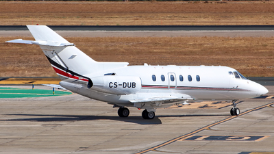 CS-DUB - Raytheon Hawker 750 - NetJets Europe