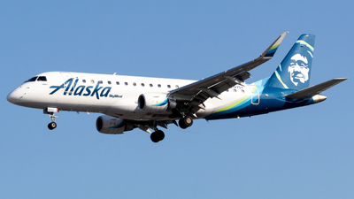 A picture of N197SY - Embraer E175LR - Alaska Airlines - © Mangus
