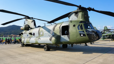 86-1654 - Boeing CH-47D Chinook - South Korea - Army