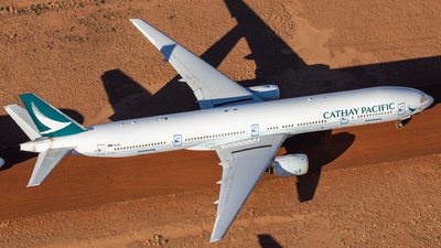 A picture of BHNJ - Boeing 777367 - Cathay Pacific - © TommyNG