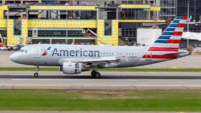 A picture of N763US - Airbus A319112 - American Airlines - © xuxinyi1000