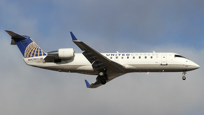 A picture of N929EV - Bombardier CRJ200ER - United Airlines - © Philipp Schuetz