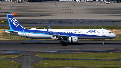 A picture of JA139A - Airbus A321272N - All Nippon Airways - © kouyagi
