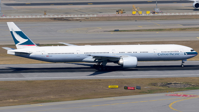 A picture of BHNR - Boeing 777367(ER) - Cathay Pacific - © Jeffrey.W