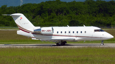 9H-JGR - Bombardier CL-600-2B16 Challenger 604 - Nomad Aviation