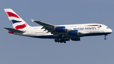 G-XLEC - Airbus A380-841 - British Airways