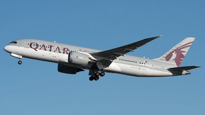 A picture of A7BCH - Boeing 7878 Dreamliner - Qatar Airways - © Gianluca Mantellini