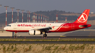 A picture of TCATT - Airbus A320233 - AtlasGlobal - © Eren Erol