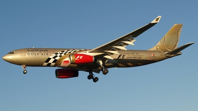 A9C-KB - Airbus A330-243 - Gulf Air