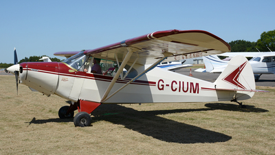 G-CIUM - Piper PA-12 Super Cruiser - Private