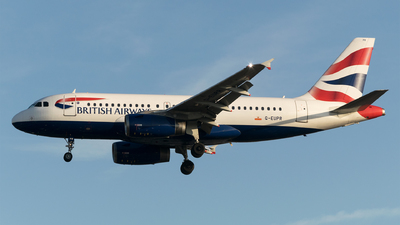 A picture of GEUPR - Airbus A319131 - British Airways - © Daniel Riederer