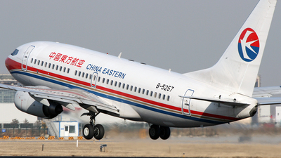 B-5257 - Boeing 737-79P - China Eastern Airlines