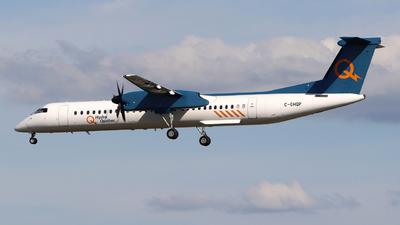 A picture of CGHQP - De Havilland Canada Dash 8400 - Hydro Quebec - © Guy Langlois