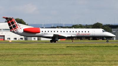A picture of GSAJJ - Embraer ERJ145EP - Loganair - © subing27
