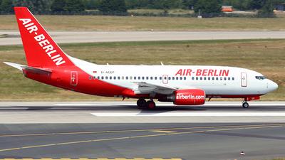 D-AGEP - Boeing 737-75B - Air Berlin