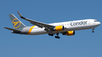 A picture of DABUT - Boeing 7673Q8(ER) - Condor - © Timo Duda