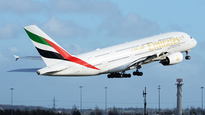 A6-EUX - Airbus A380-842 - Emirates