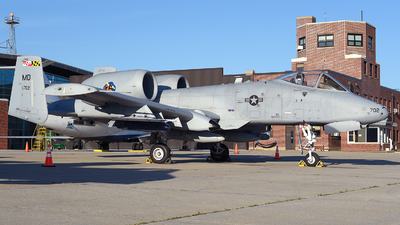 78-0702 - Fairchild A-10C Thunderbolt II - United States - US Air Force (USAF)