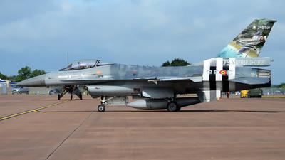 FA-124 - General Dynamics F-16AM Fighting Falcon - Belgium - Air Force