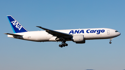 A picture of JA771F - Boeing 777F - All Nippon Airways - © Sebastian Sowa
