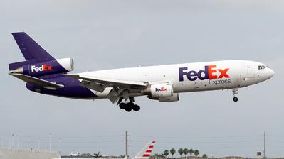 N360FE - McDonnell Douglas MD-10-10(F) - FedEx