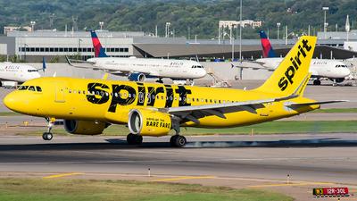 N915NK - Airbus A320-271N - Spirit Airlines