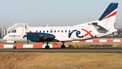 A picture of VHRXS - Saab 340B - Regional Express - © Mark H