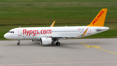A picture of TCNCD - Airbus A320251N - Pegasus Airlines - © Julian Azeroth