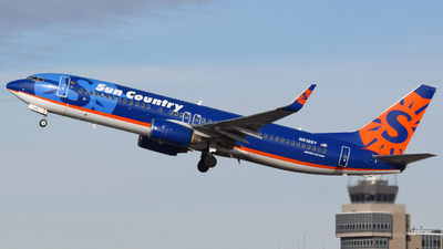 N819SY - Boeing 737-86N - Sun Country Airlines