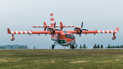 C-FYWK - Canadair CL-415 - Canada - Government of Newfoundland and Labrador