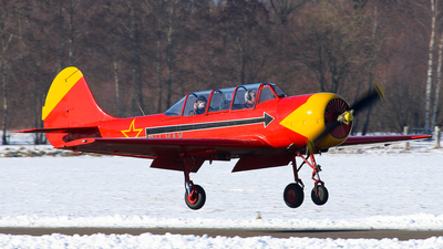 A picture of PHYAX - Aerostar Yak52 - [844007] - © BaszB