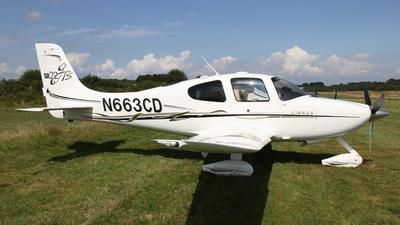 N663CD - Cirrus SR22-GTS - Private