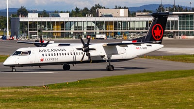C-GGMZ - Bombardier Dash 8-Q402 - Air Canada Express (Jazz Aviation)