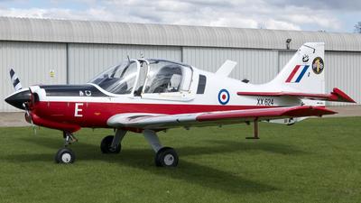 G-KDOG - Scottish Aviation Bulldog 121 - Private