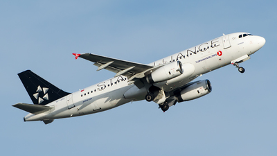 A picture of TCJPS - Airbus A320232 - Turkish Airlines - © Alp AKBOSTANCI