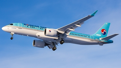 C-FOVP - Bombardier CSeries CS300 - Korean Air