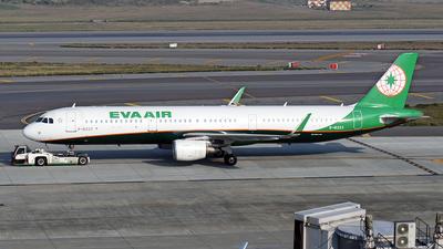 A picture of B16223 - Airbus A321211 - EVA Air - © ECHO
