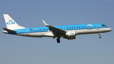 PH-EZW - Embraer 190-100STD - KLM Cityhopper
