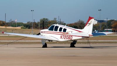 N7206D - Beechcraft B36TC Bonanza - Private