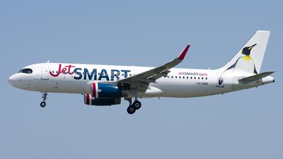 LV-JQE - Airbus A320-232 - JetSmart Argentina
