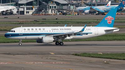 A picture of B8357 - Airbus A320214 - China Southern Airlines - © Leng Hao